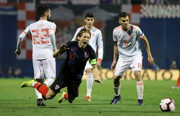 Luka Modrić, Isko, Dani Sebaljos, Hrvatska, Španija