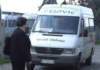 Montenegro prevoz Pejović