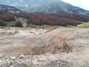 Iskopano buduće jezero, ŽABLJAK