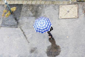 kiša, kišobran