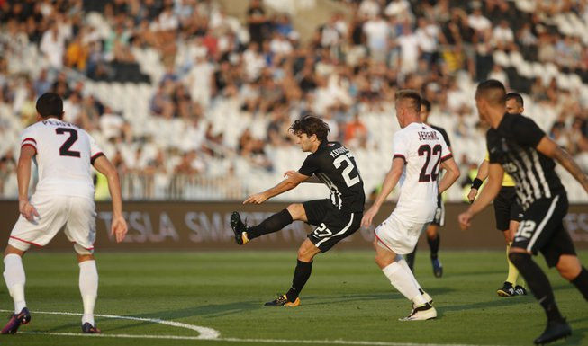Nebojša Kosović FK Partizan