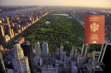Njujork, pasoš Crne Gore
