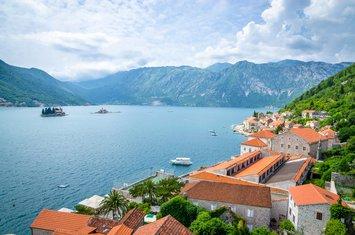 Boka Kotorska, sunčano vrijeme