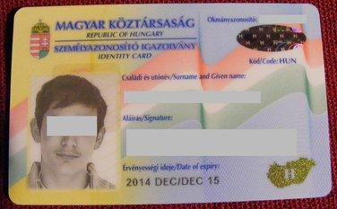 dokument, Mađarska