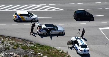 Vožnja, policija