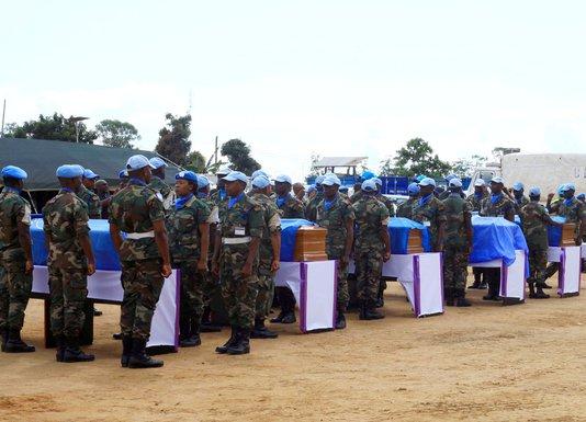 UN vojnici, Kongo