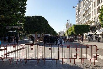 Tunis, napad