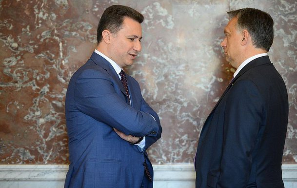 Nikola Gruevski, Viktor Orban