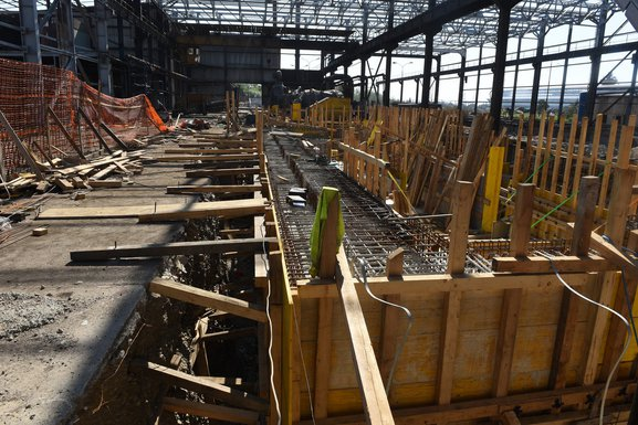 KAP, gradilište fabrike