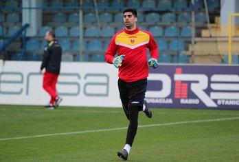 Fudbalska reprezentacija Crne Gore trening Danijel Petković