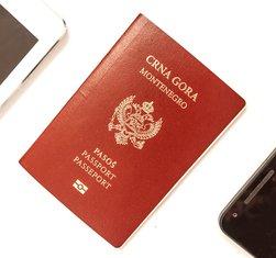 pasoš, crnogorski pasoš