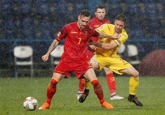 Crna Gora - Rumunija Liga nacija