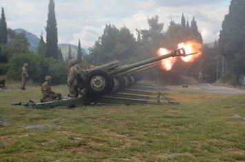 haubice, vojska