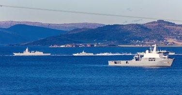 Spoj trozupca, NATO vježba