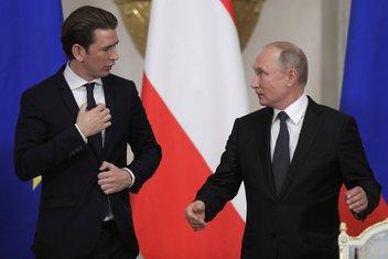 Sebastijan Kurc, Vladimir Putin