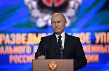 Vladimir Putin, GRU