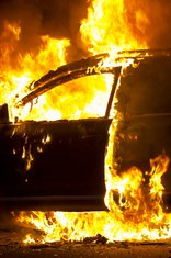 požar auto