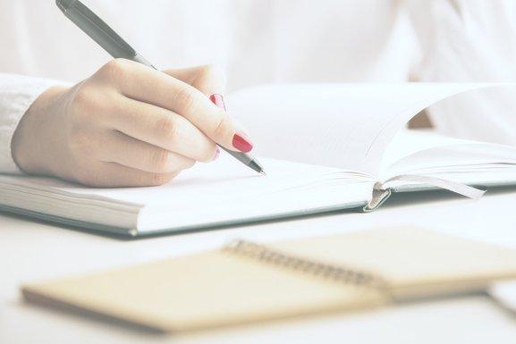 žena, pisanje