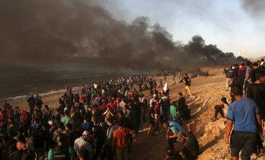 Gaza, protest