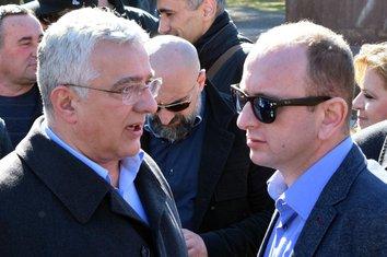Andrija Mandić, Milan Knežević
