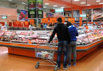 trgovina, prodavnica, roba, hrana, potrošnja