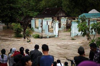 Indonezija, poplave