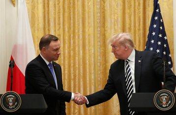 Andžej Duda, Donald Tramp