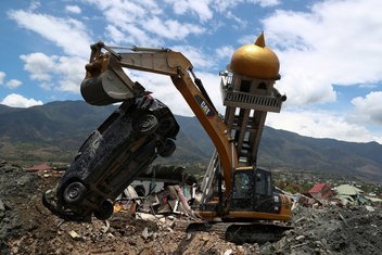 Indonezija, zemljotres