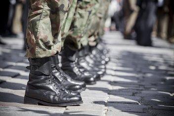 nacionalna garda, vojnici