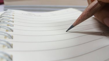 olovka, pisanje, sveska