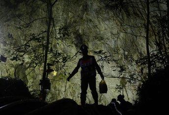 Tajland, pećina
