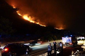 Požar Paštrovska gora
