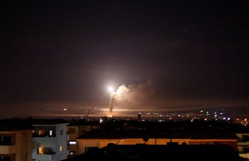 Sirija, bombardovanje