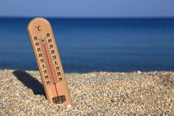 vrućine, ljeto, temperature