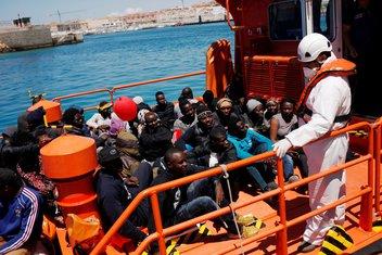 Španija, migranti