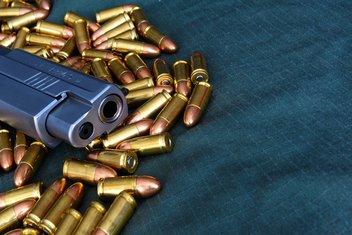 oružje, pištolj, municija