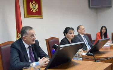 Mušika Dujović, Vesna Medenica, Boris Savić