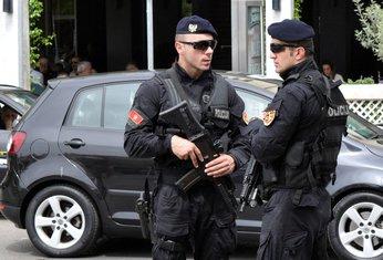 policija Podgorica, pretres