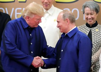 Donald Tramp, Vladimir Putin
