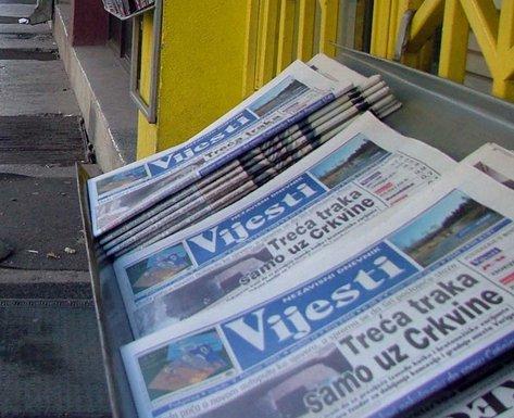 novine, Vijesti