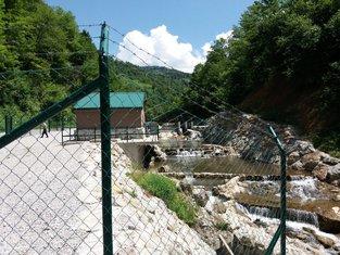 Hidroelektrana u Šekularu