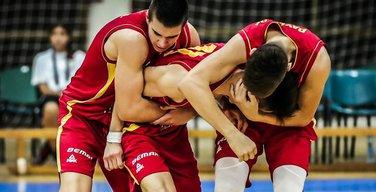 Fedor Žugić, muška kadetska košarkaška reprezentacija