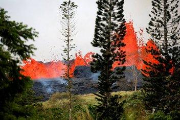 Havaji vulkan, Havaji lava