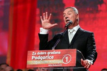 Milo Đukanović DPS Podgorica