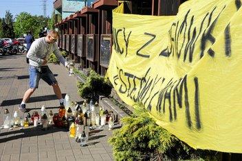 Paljenje svijeća za poginule rudare, Poljska