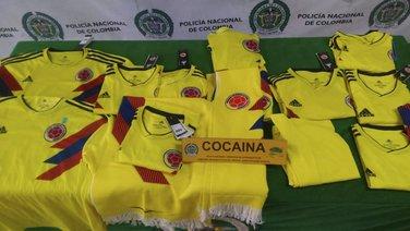 Kolumbija, dresovi