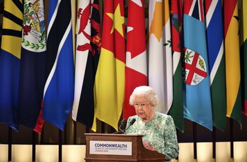 Kraljica Elizabeta, Komonvelt