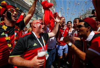 Belgija, navijači, Mundijal