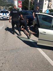 Hapšenje u Baru