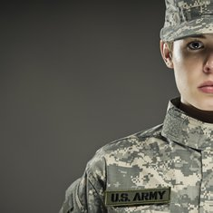 žena vojnik